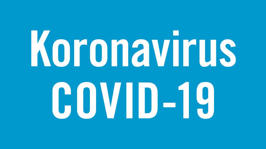 Koronavirus-teksti