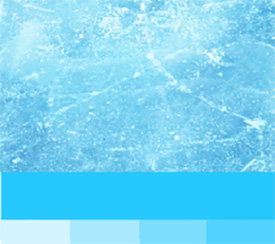 Lisävärit - jään sininen