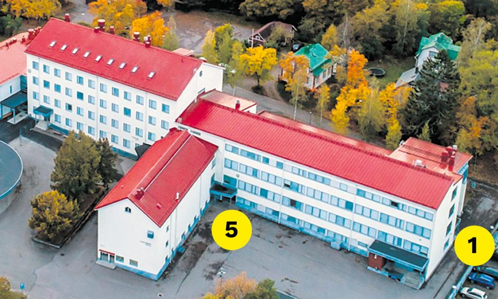 Lyseonmäen koulun rokotuspisteet